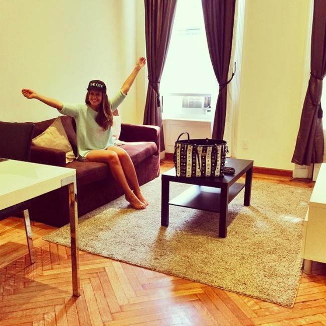 Erste Stunden in unserer New Yorker Wohnung