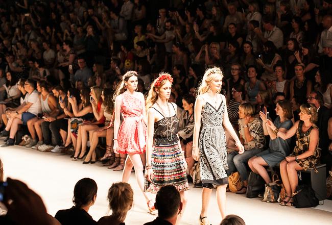 Erste Fashion Week Impressionen