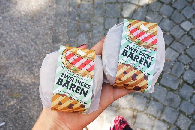 Der mint&berry Ice Cream Market in München