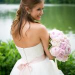 Make-up Hochzeit dezent