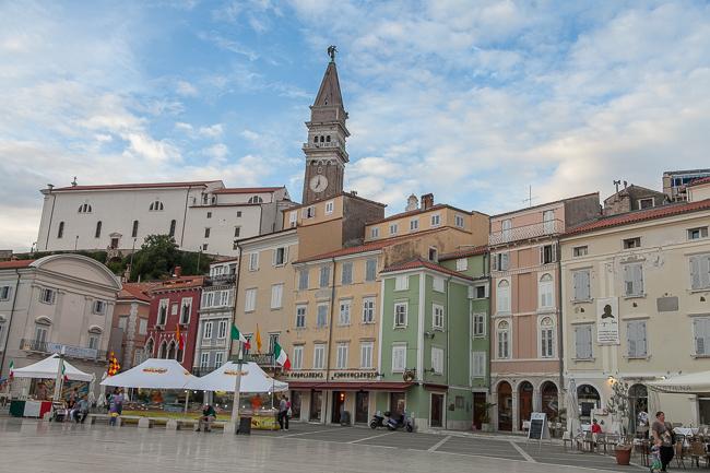 Piran Slowenien Altstadt