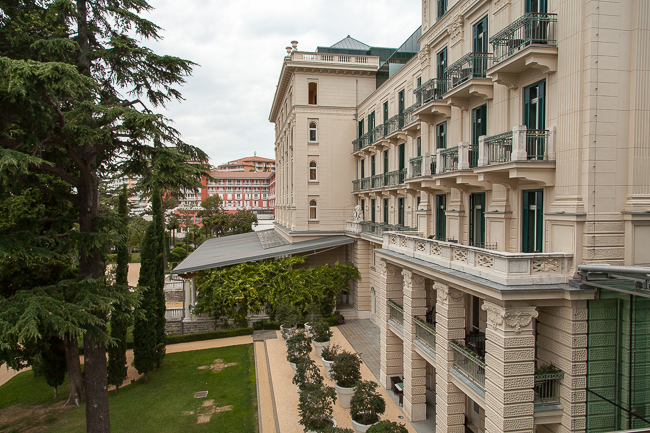 Letzte Sommertage im Kempinski Palace Portorož in Slowenien