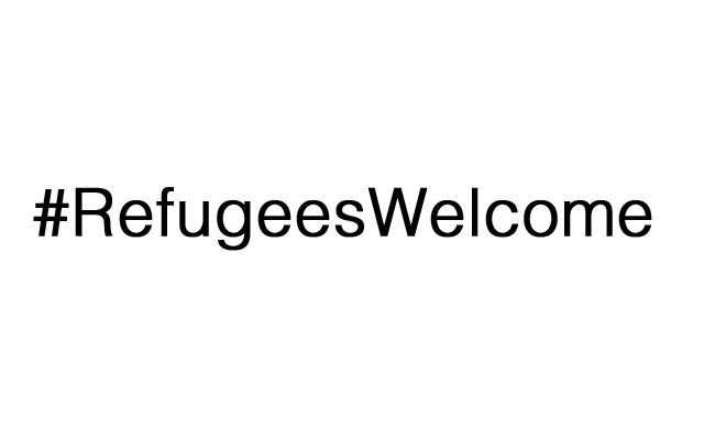 #RefugeesWelcome