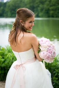 Brautstrauß Pfingstrosen