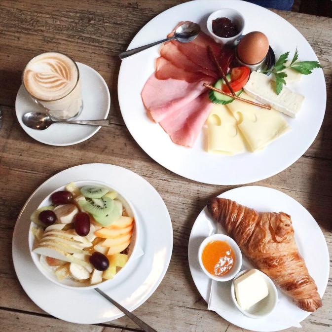 Das Maria München Klenzestraße Frühstück