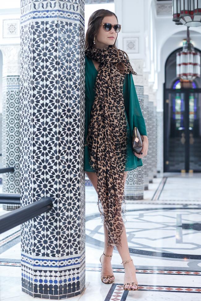 Mit Louis Vuitton im La Mamounia