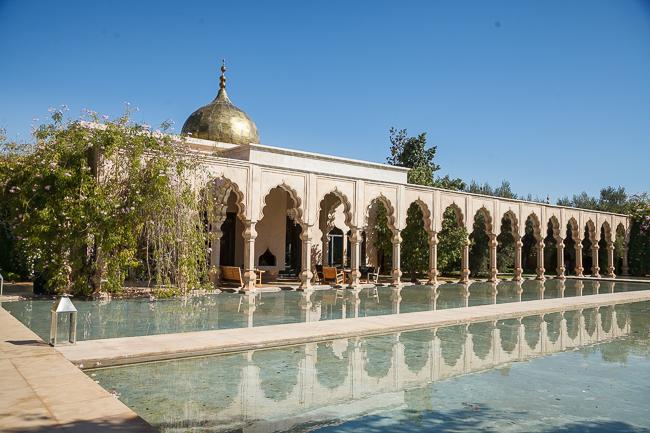 Unser Marrakesch-Auftakt im Palais Namaskar