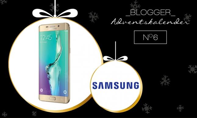 Der großer Blogger Adventskalender 2015 - 6. Dezember: Samsung Galaxy S6 edge+ (32 GB) in gold