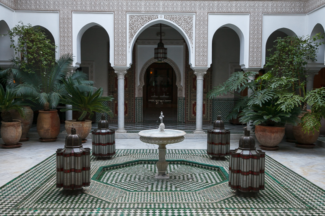 Das La Mamounia in Marrakesch