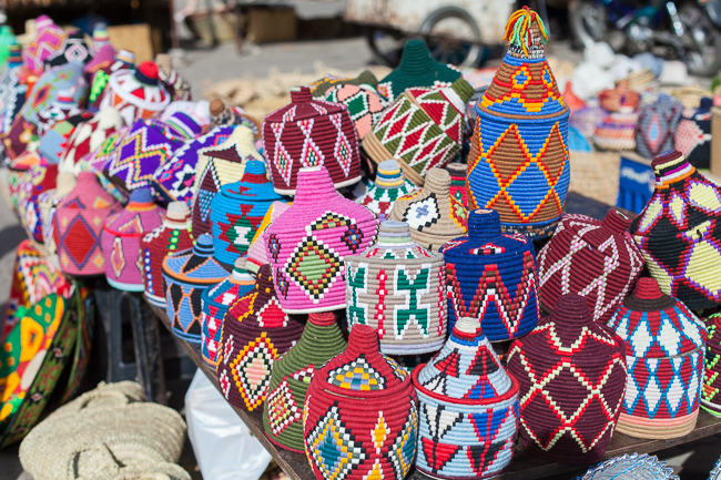 Unsere Marrakesch-Shopping-Ausbeute