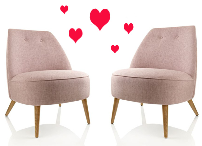 rosa sessel impressionen williamflooring. Black Bedroom Furniture Sets. Home Design Ideas