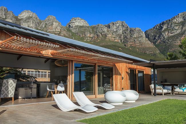 Unsere Unterkunft in Kapstadt
