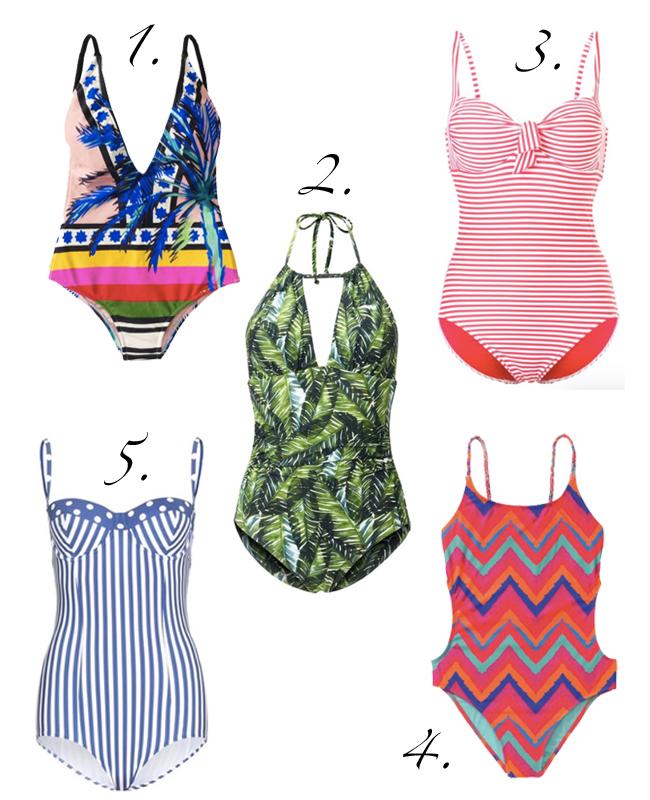 Die schönsten Bikinis und Badeanzüge für den Sommer 2016