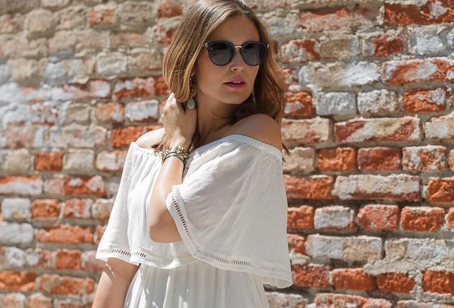 Off Shoulder Kleid von MbyM