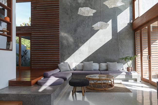 Unser airbnb Haus in Canggu auf Bali