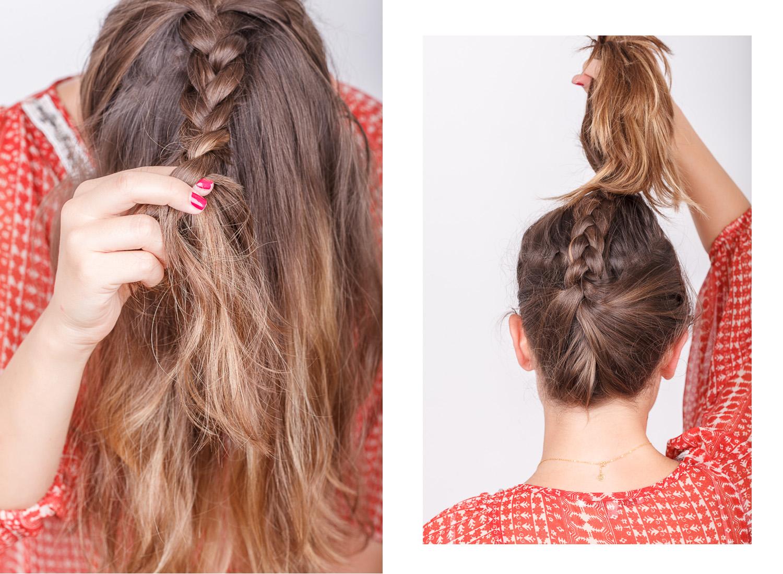 Einfache Sommer Frisur Josie Loves