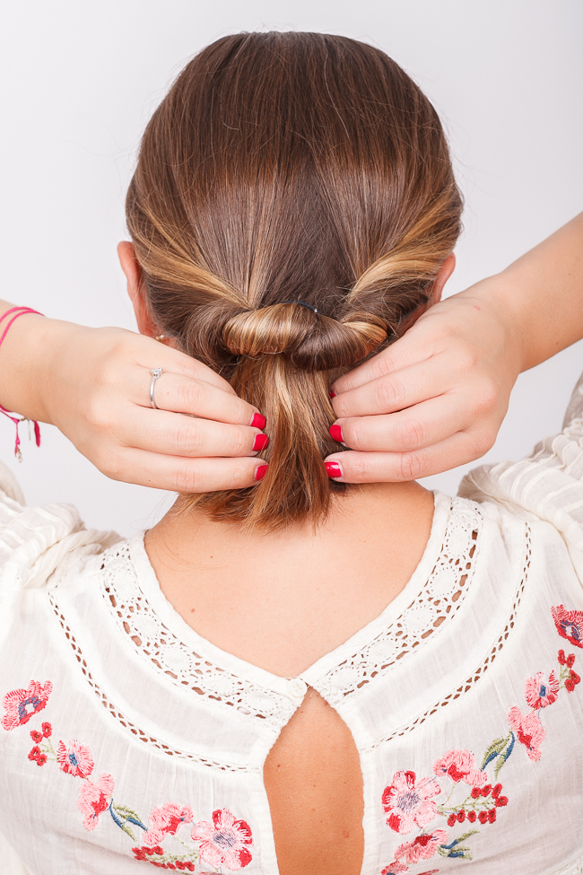 Hair Tutorials Drei 5 Minuten Frisuren Fur Eine Sommer Party