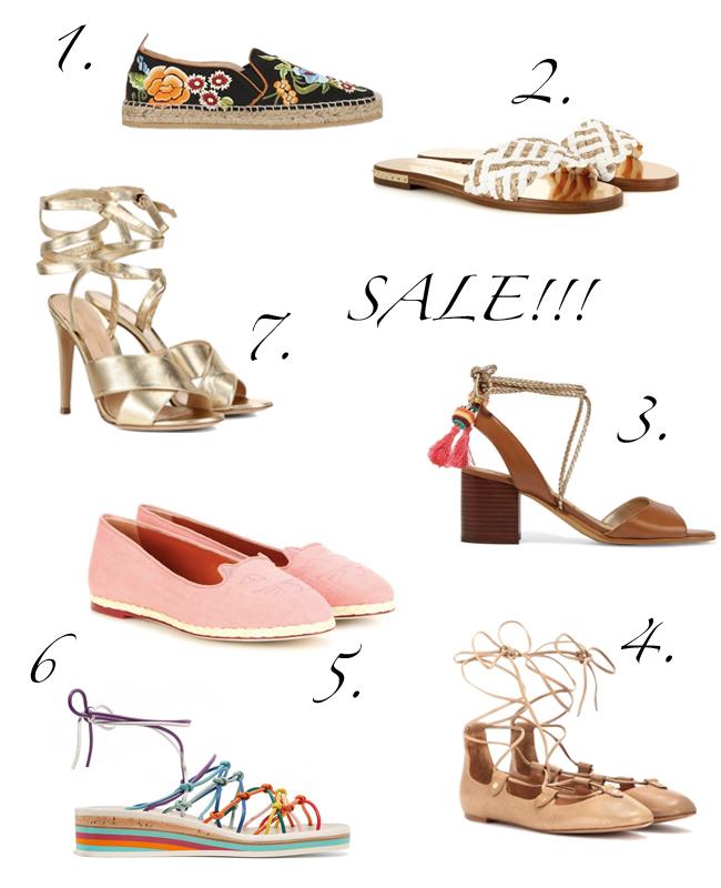 Designer-Schnäppchen: Schuhe von Chloé, Charlotte Olympia und Jimmy Choo im SALE
