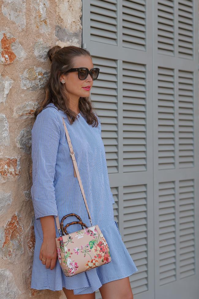 Blaues Kleid-7230