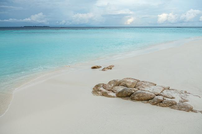 Eine Nacht auf einer einsamen Insel