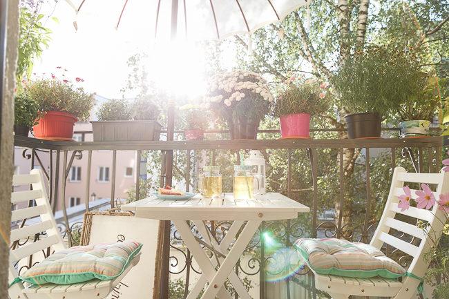 Mein Lieblingsplatz Im Sommer Unser Mini Balkon Josie Loves