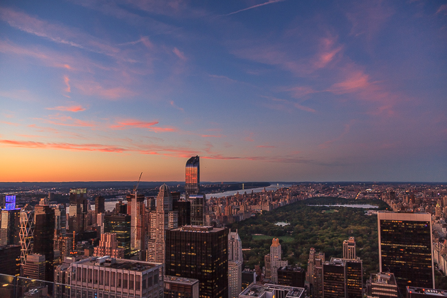 Central Park Blick Rockefeller Center