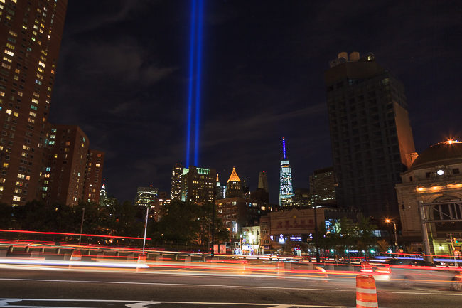 One World Trade Center Light 9/11