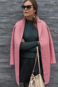 Mantel rosa Herbst 2016