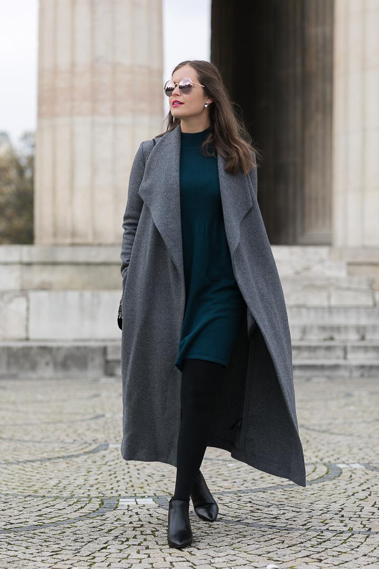 Hallhuber mantel lang