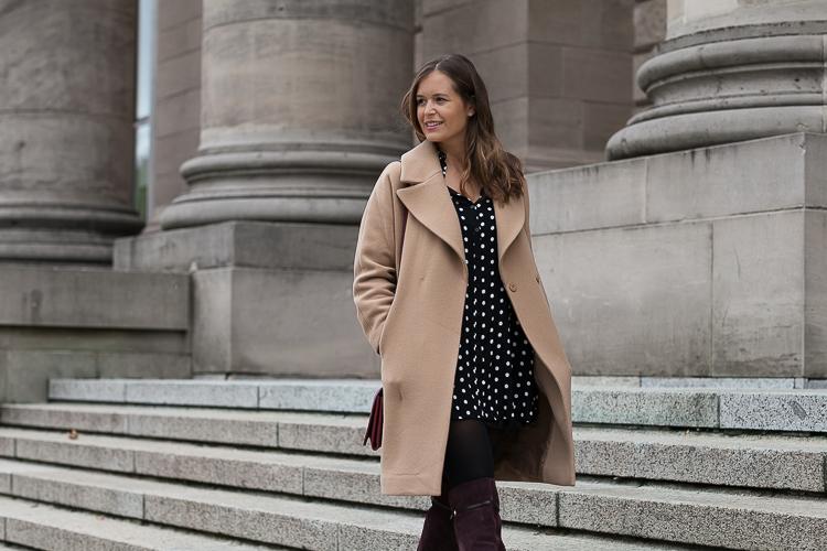 Mantel oversize look
