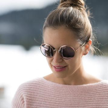 Sonnenbrille runde Gläser Dolce&Gabbana 2016