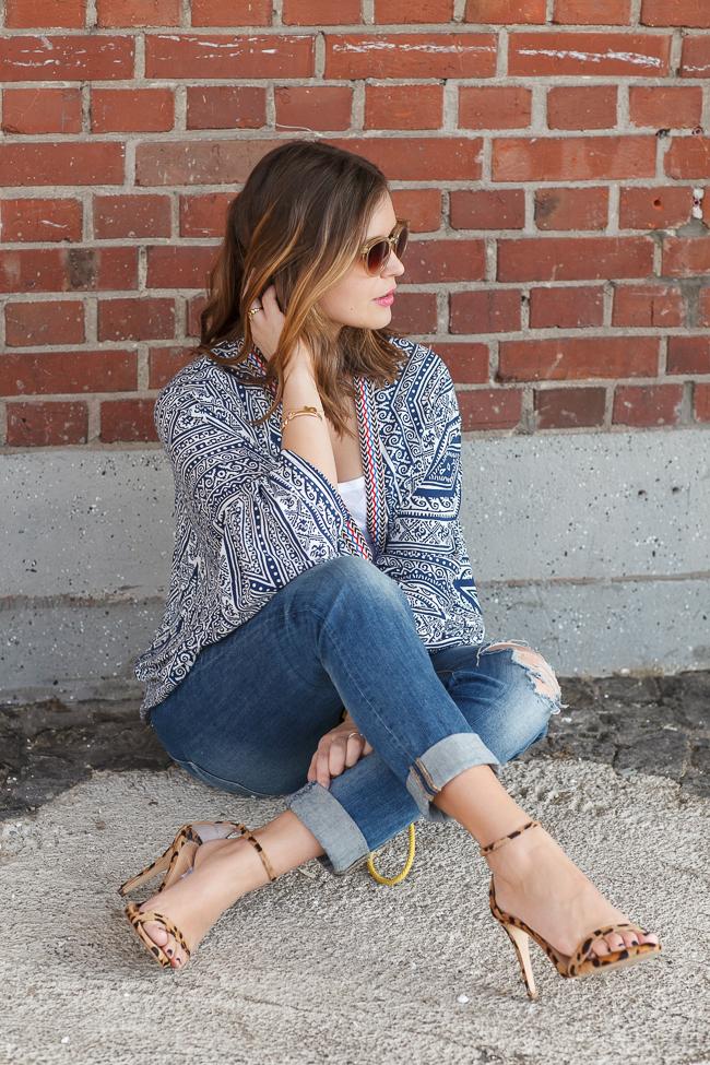 outfit-kimono-jeans-blogger