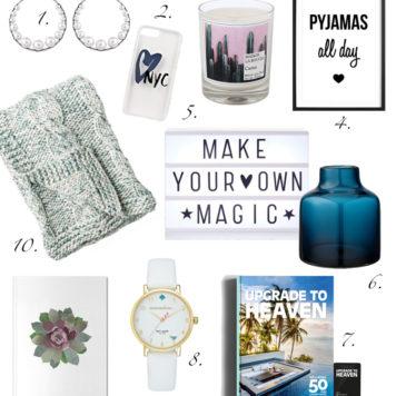 Weihnachten 2016: Die schönsten Geschenke für unsere Lieblingsmenschen