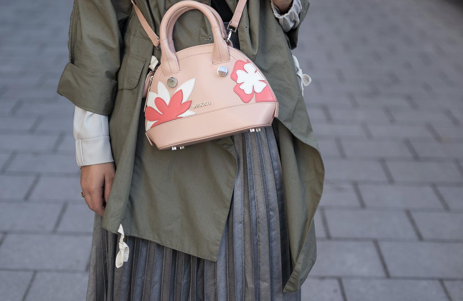 Tasche Blumen MAX&Co. Sommer 2017