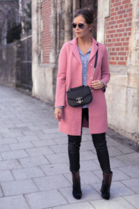 Mantel Boden Rosa Outfit