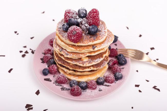 Pancakes einfaches Rezept