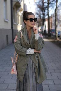 Parka Outfit Frühling 2017
