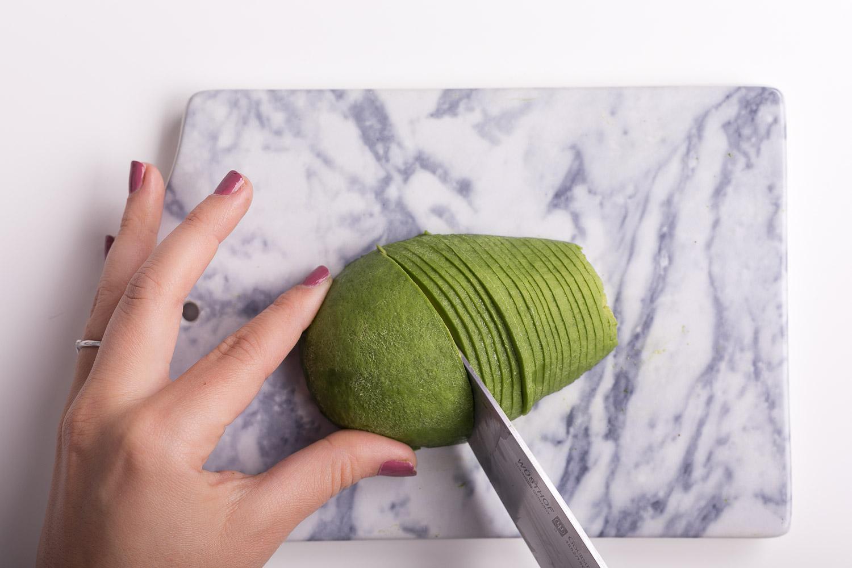 wie macht man eine avocadorose josie loves. Black Bedroom Furniture Sets. Home Design Ideas