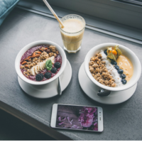 Frühstück in der Wagner's Juicery - Breakfast Bowls