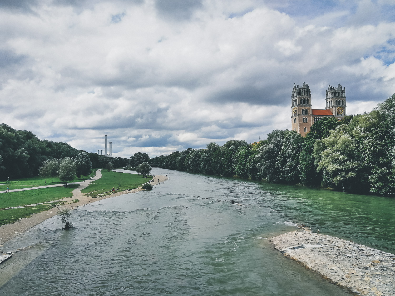 München Isarufer
