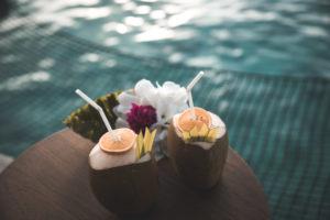 Kokosnuss auf den Malediven