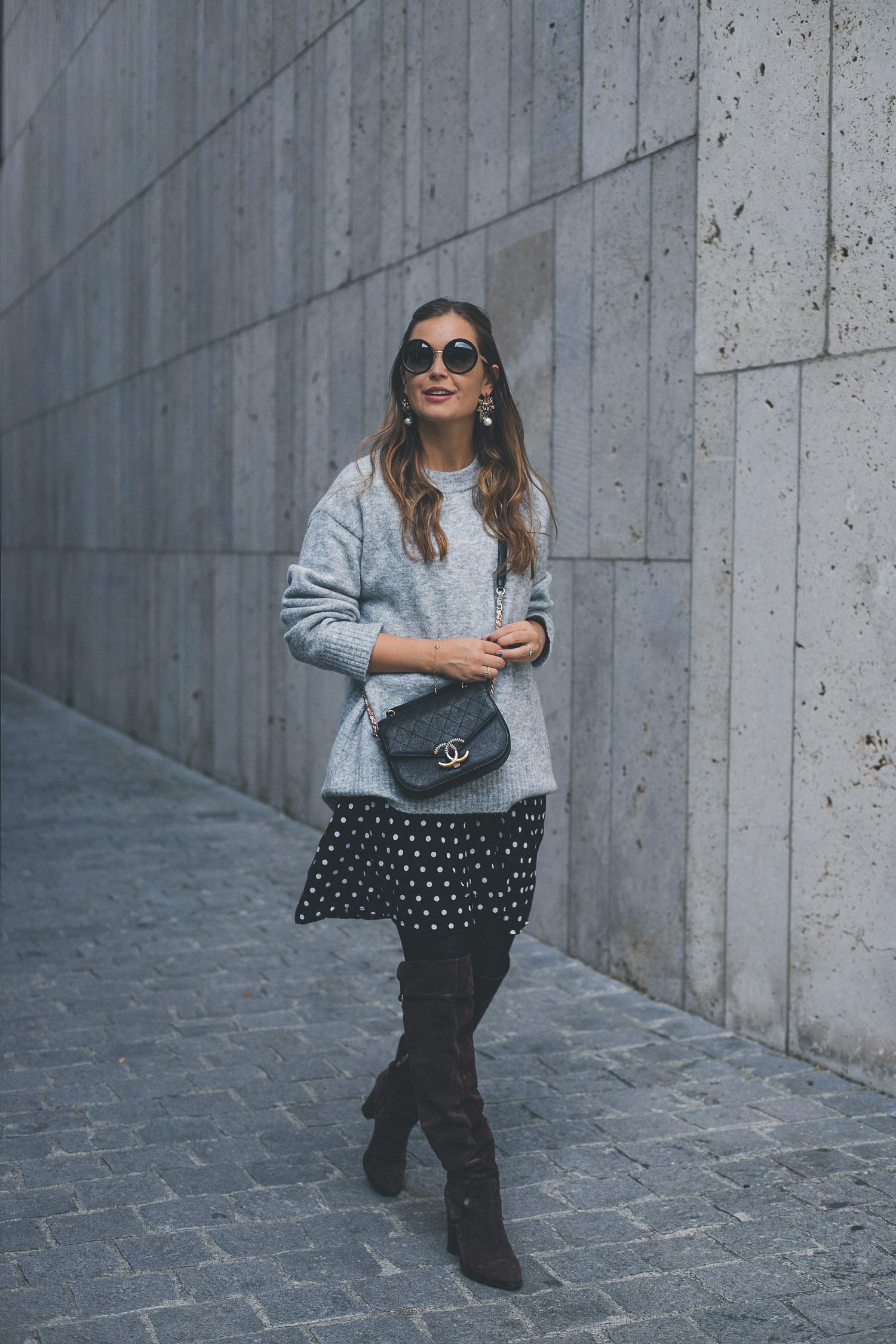 Ein (perfekter Herbst-)Pulli – sechs Looks: Outfit Nummer Sechs