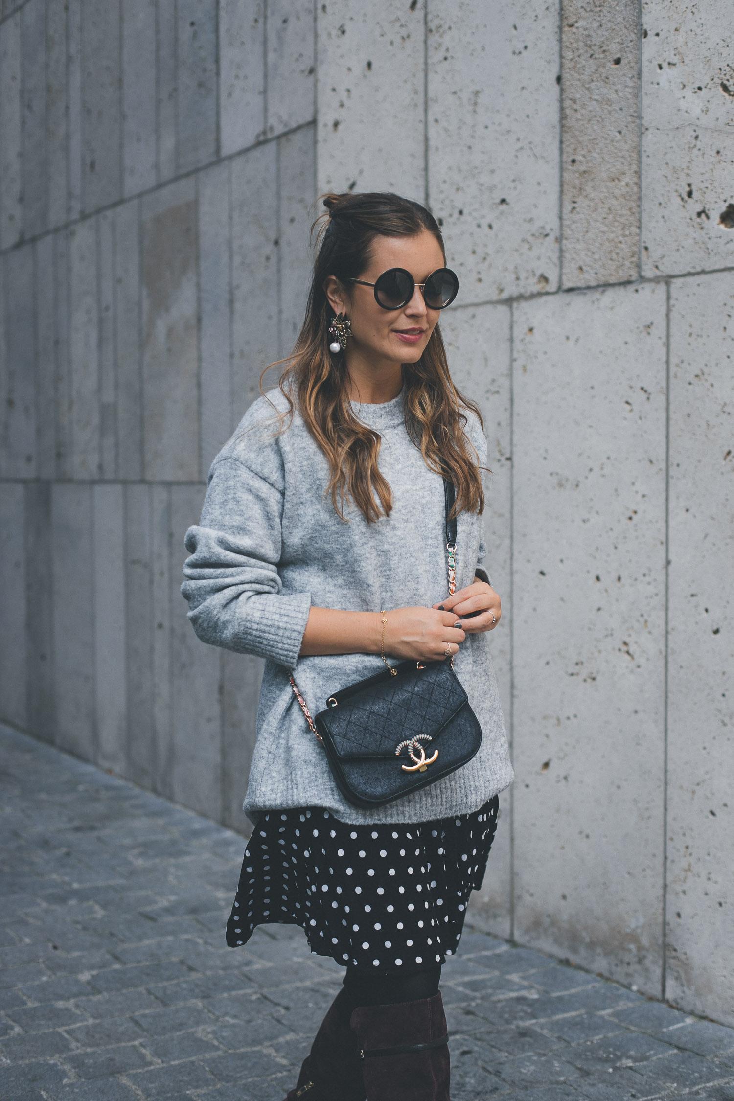 Ein (perfekter Herbst-)Pulli – sechs Looks: <br /> Outfit Nummer Sechs