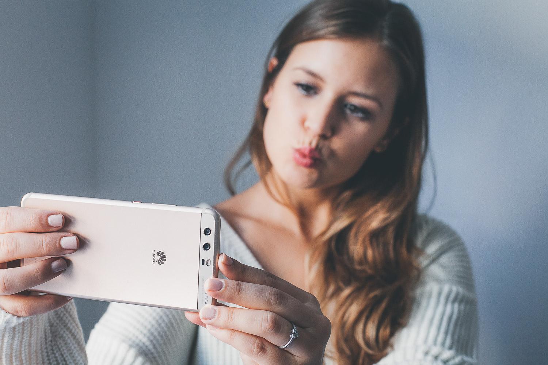 Schöne selfies hinbekommen