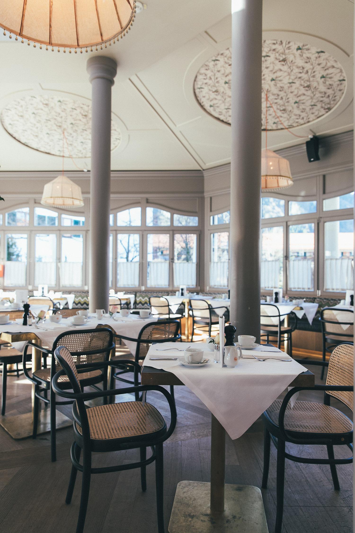 Frühstück im Hotel Bachmair Weissach am Tegernsee