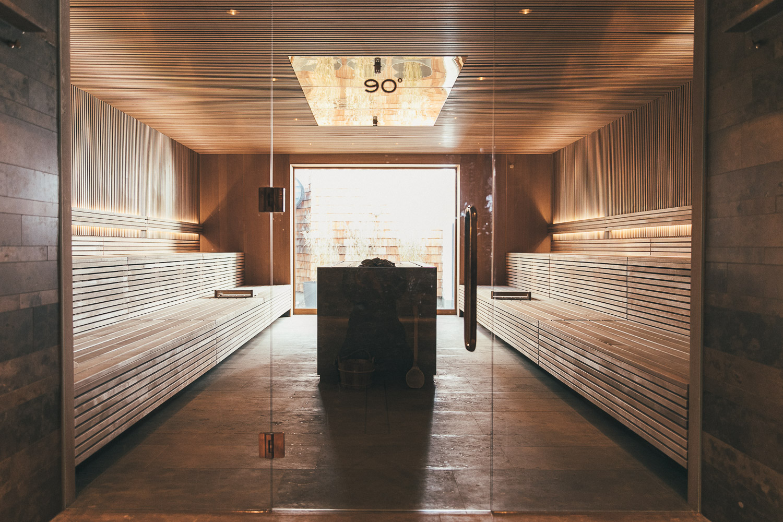 Der Sauna-Bereich