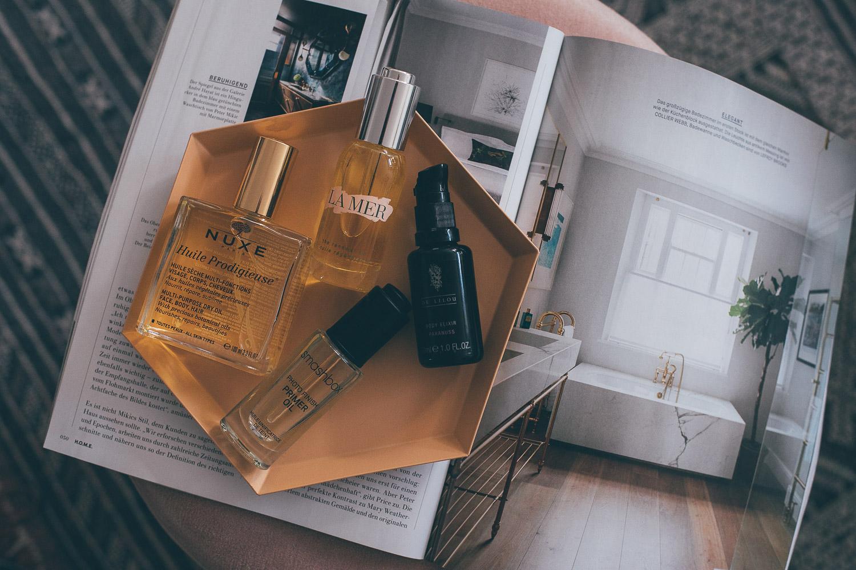 die besten Beauty Öle für Körper, Haar und Gesicht