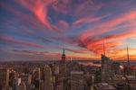 Sonnenuntergang Rockefeller Center