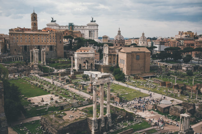 Rom Reise Highlight: das Forum Romanum
