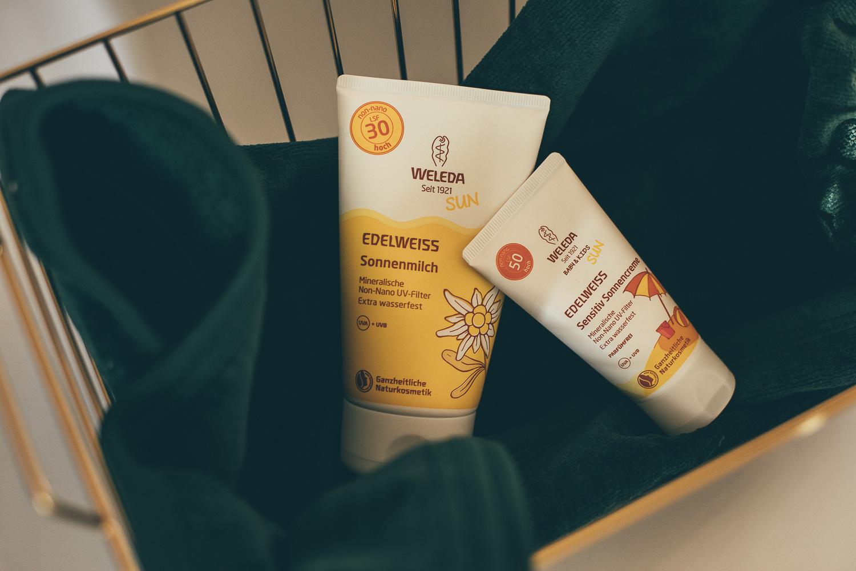 Natürliche Sonnenschutz Produkte von Weleda